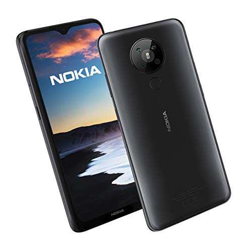 Nokia 5.3 Smartphone with 4 GB RAM and 64 GB Storage (Dual SIM) UK - Charcoal