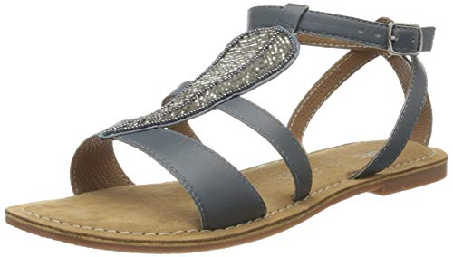 Marc Shoes Damen Chiara Sandalen, Grau, 38 EU