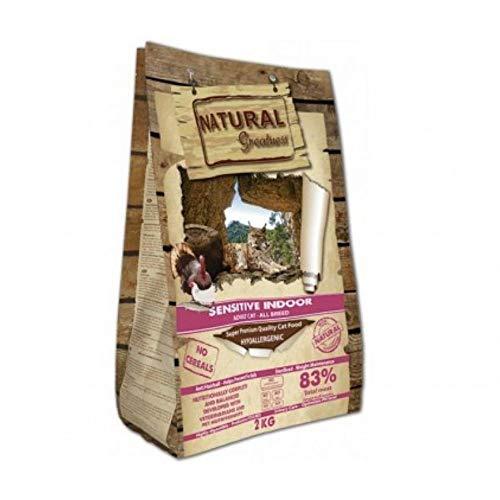 Natural Greatness - Pienso para Gatos Esterilizados No Gluten Sensitive Indoor Saco...