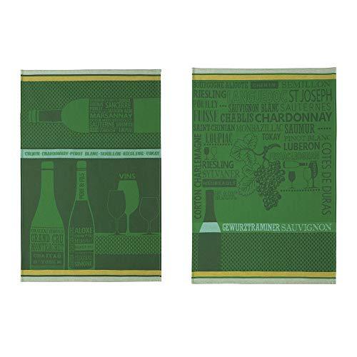 Coucke Torchon, Vert, 50 x 75 cm