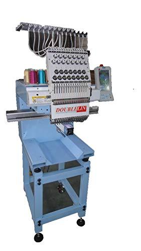 4. NEW,compact embroidery machine, single head, 15 needles