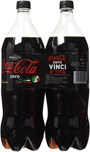 Coca Cola 1,5 L x 2 Zero Pet - [confezione da 3]