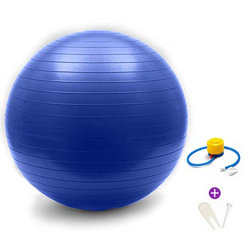Find Discount YKXIAOYU Exercise Ball Yoga Ball Chair, Workout Guide & Quick Pump Included, for Balan...