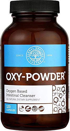 Global Healing Centro De Oxy-Powder Limpieza De Colon (120 Cápsulas) 120 Capsules