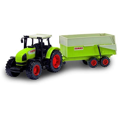John World - Vehicules/Coffrets Tracteur + Remorque - Taille : 57Cm