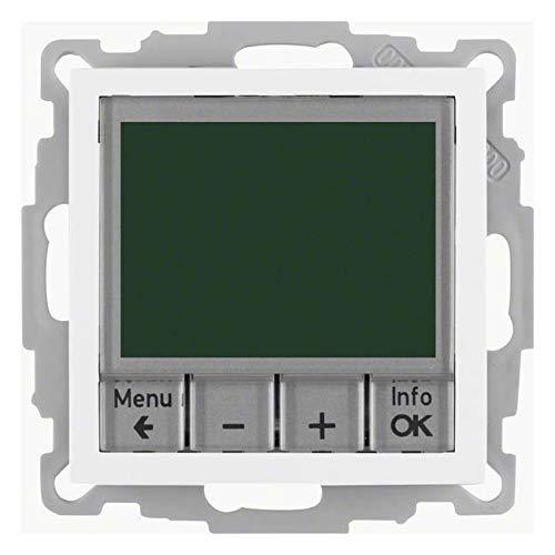 Berker Temperaturregler weiß 20441909 mit Schließer B.3;B.7;HLK-REGELUNG;S.1 Raumthermostat 4011334354680