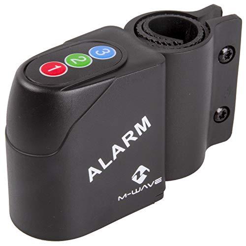 M-Wave 234000.0 Alarma por Movimiento, Unisex, Negro, 120 dB