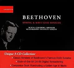 Ludwig Van Beethoven: Spring and Kreutzer Violin Sonatas by L.V. Beethoven (2013-05-03)