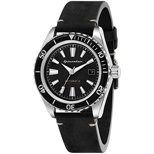 Spinnaker Homme Uhr Analogique QUARTZ mit Métal Armband SP-5056-01