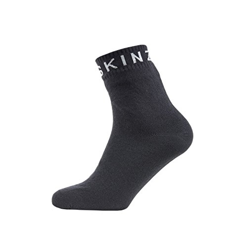 SealSkinz unisex Super Thin Ankle Socken, Multicolor (Black/Grey), Größe S
