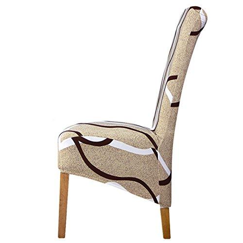 Tireyeres Neuer Entwurfs-XL Größe Big-Stuhl-Abdeckung Elastic Sitz Hussen Stretch Hohe König Zurück Slipcovers Bankett 12 XL Size