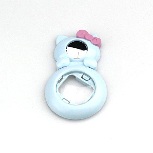 MASUNN Close Up Lente Bella Gatto Autoritratto Specchio per Fujifilm Instax Mini 8 Mini 7S Instant Film Camera - Blu