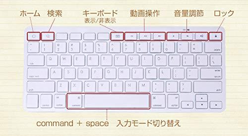 電池要らず!iPhone/iPad用有線ミニキーボードMFAPKEY4設定不要簡単接続iPhone7/8/X/Plusにも対応!