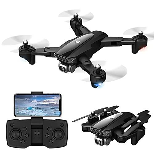 MAFANG® Drone con Cámara HD 6K, Drone FPV Plegable Drone Profesional Posicionamiento De Flujo Óptico, Control Remoto WiFi, Un Botón De Despegue Aterrizaje, Modo Sin Cabeza 3D Flip, para Principiantes