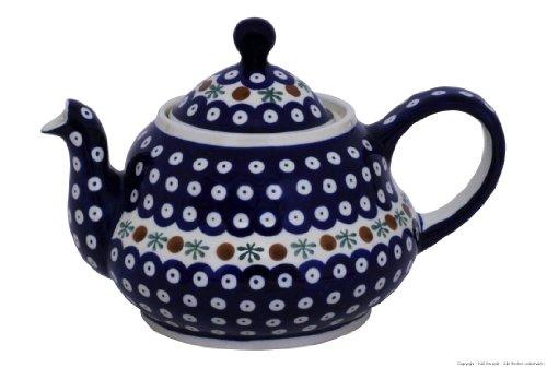 Original Bunzlauer Keramik Teekanne 1.50 Liter im Dekor 41