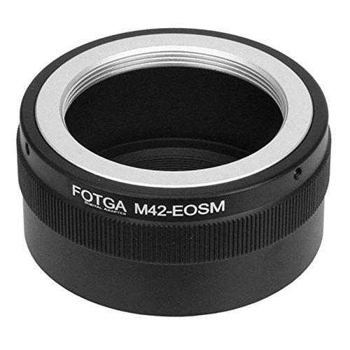 Fotga AF M42 lente con montatura a vite per Canon EOS M M2 M3 M5 M10 M50 M100 EF-M - Anello adattatore per fotocamere mirrorless