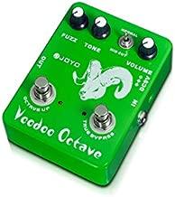 JOYO JF-12 Voodoo Octave Electric Guitar Effect Pedal Fuzz Octaver Guitar Effect Pedal