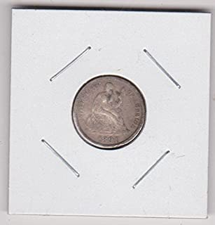 1891 Seated Liberty Dime Choice Fine Details