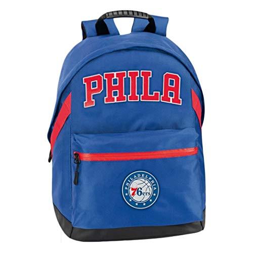 Panini NBA Philadelphia 76ERS - Mochila americana - Color - Azul, Talla - Uni