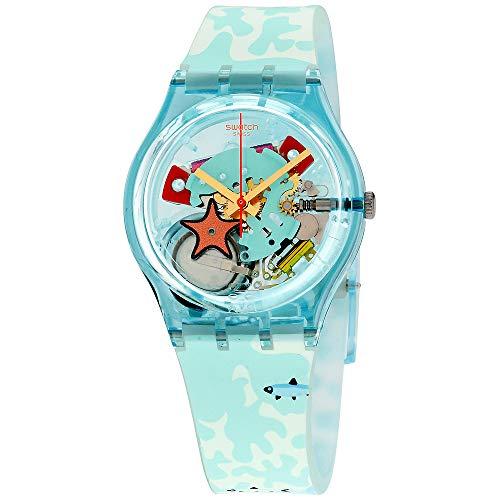 Swatch Originals Piscina Multicolored Dial Silicone Strap Unisex Watch GL121
