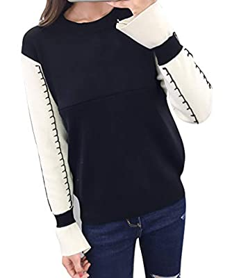 Sufeng Women Hooded Striped Patchwork Maternity Pregnancy Lady Sweatshirt Top