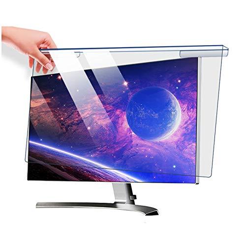 Protector de pantalla de computadora Bloqueo de luz azul Panel protector de pantalla, Protección para los ojos, Película de filtro antideslumbrante antirrayas para monitor de 22-28',22' 510*333
