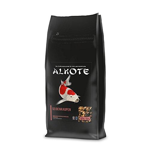 AL-KO-TE, Aliment Complément Alimentaire pour carpes koïs - Chenilles en Soie - 1,5 kg