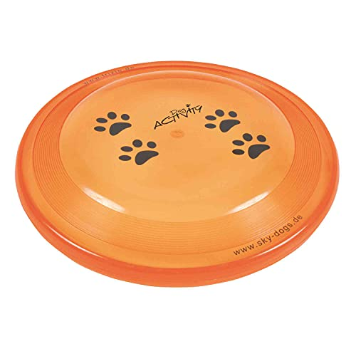 TRIXIE Disco Dog Activity, Resistente Mordiscos, ø19 cm, Perro