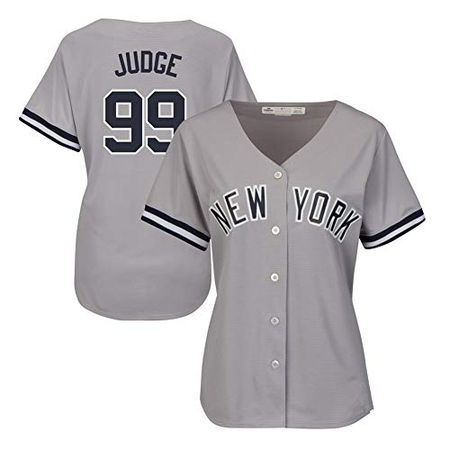Hhwei Baseball Anzug Aaron Judge #99, Sommer Trikots Baseball Uniform Tops,M
