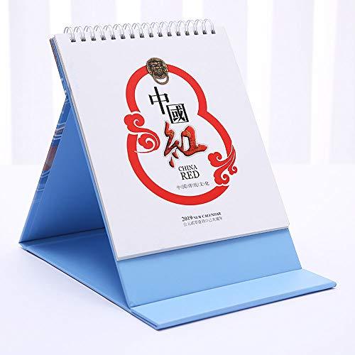 DEI QI Escritorio Calendario mensual de diciembre de 2018 a diciembre de 2019, Planificador del Calendario del Escritorio Planificador del Calendario Diario para Estudiantes, Trabajadores de Oficina,