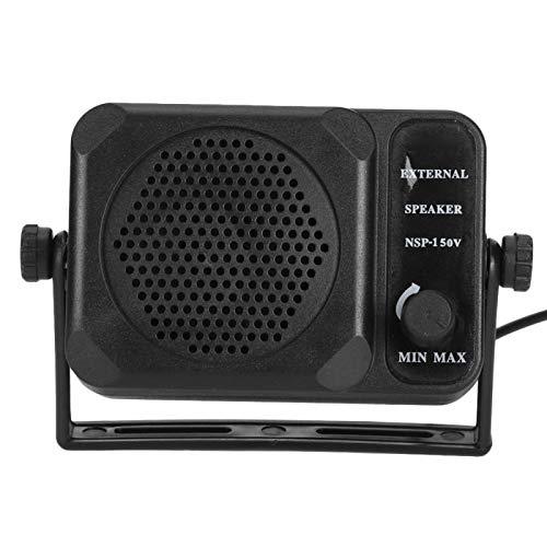 Qqmora Mini Altavoz Externo Duradero de la Radio del Coche del transceptor...