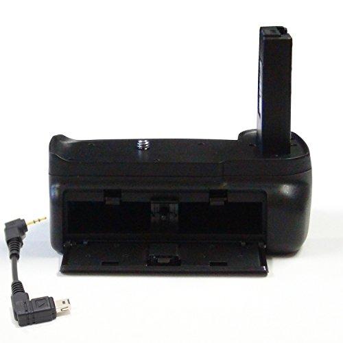 DynaSun 3100 Impugnatura Battery Grip Professionale per Nikon D3100/D3200/D3300 con Cavo di Collegamento, Nero