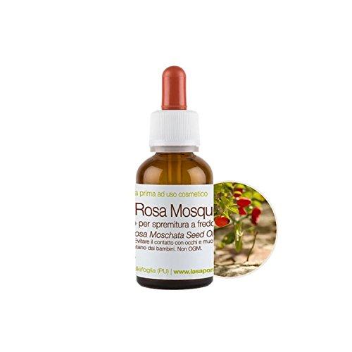 Olio di Rosa Mosqueta La Saponaria 30 ml antiage cicatrizzante