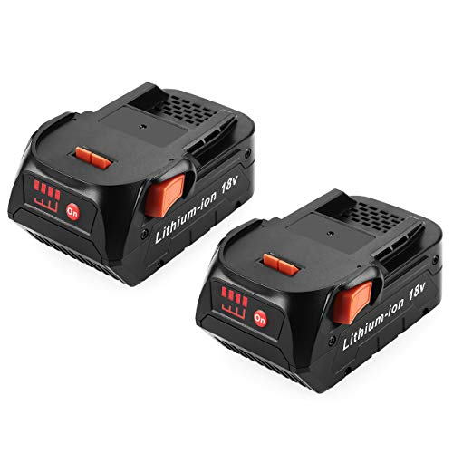 AYTXTG 2Pack 6.0Ah R840085 Lithium Replacement Battery for Ridgid 18V Battery R840087 R840083 R840086 R840084 Ridgid Battery