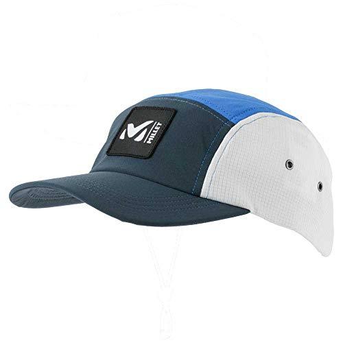 Millet – 5 Panel Cap – Casquette Homme – Style Urbain - Randonnée, Trekking, Lifestyle - Couleur : Bleu