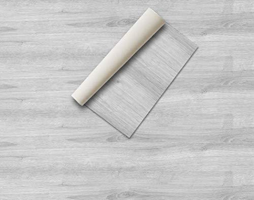 Lámina adhesiva Madera y piedras , vinilos para muebles , lámina decorativa, aspecto real, lámina para muebles, vinilo decorativo (60 x 300 cm, Pino Gris)