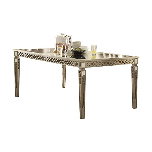 ACME Furniture Kacela Dining Table, Champagne