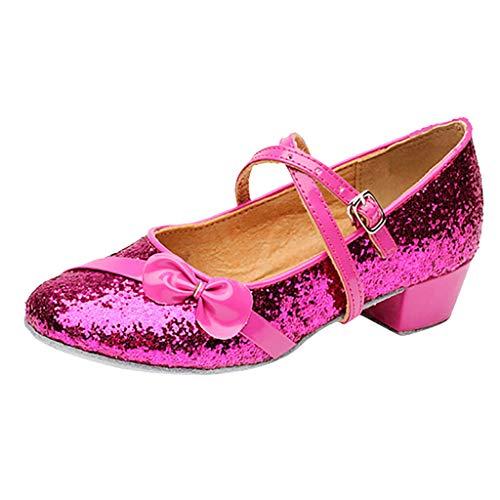 Erste Schritte Schuhe Kind 29, Babyschuhe Kinder Kinder Mädchen Prinzessin Gesellschaftstanz Tango Latin Tanz Kinder 9 Jahre Günstige Stiefel Turnschuhe für Kindertag