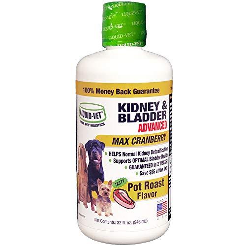 Liquid-Vet by COOL PET Holistics K9 Kidney & Bladder Advanced Formulas, Pot Roast, 32 oz