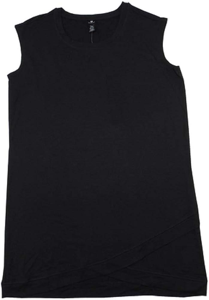 Active Life Womens Size 2X-Large Sleeveless Modal Soft Active Dress, Black