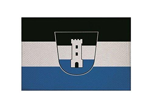 U24 Aufnäher Neu-ULM Fahne Flagge Aufbügler Patch 9 x 6 cm