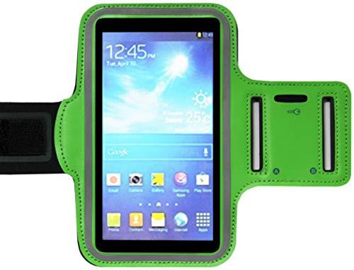 ADEL - Brazalete Deportivo de Microfibra, Compatible con LG G4, Color Verde