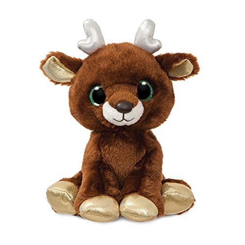 AURORA, 61203, Sparkle Tales, Noelle The Reindeer, 7In, Soft Toy, Brown