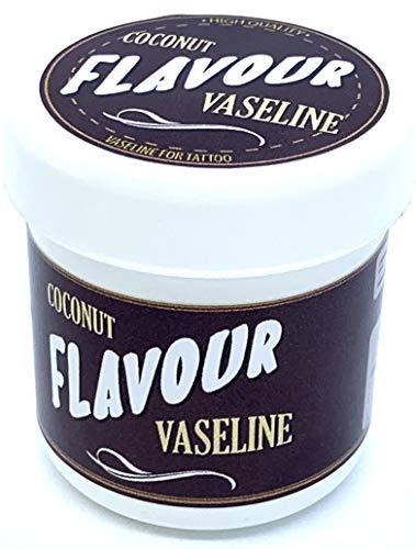 FLAVOURTATTOO - VASELINA COCONUT para Tatuajes - Microblading - Micropigmentación - 75 ml
