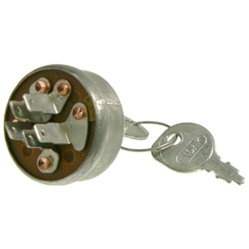 DISCOUNT STARTER & ALTERNATOR Ignition Key Switch Replacement for Honda John Deere Mowers Toro AM102551 23-0660 35100-772-003