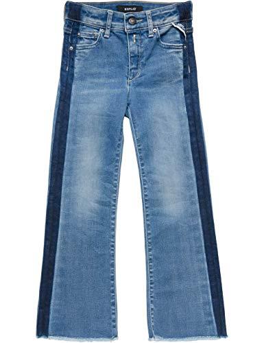 Replay Mädchen SG9296.052.45C 822 Jeans, Weiß (White 1), 140 (Herstellergröße: 10A)