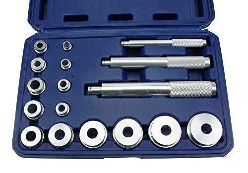 Lagerbuchsen-Eintreibsatz 17-tlg Druckstück-Satz Eintreiber Simmering