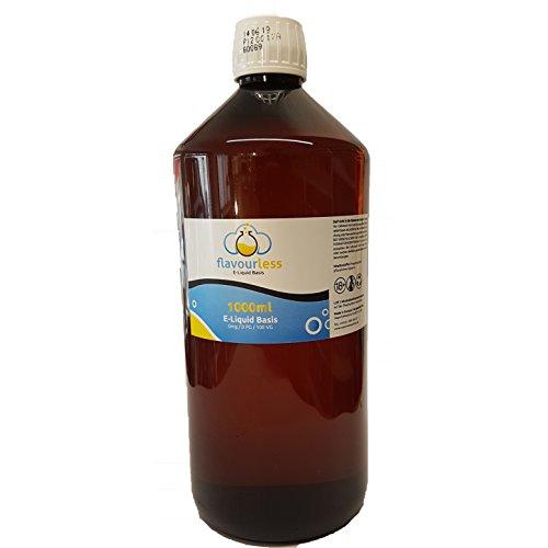 Premium Liquid Base flavourless - 0mg/ml - 1000ml - 100% VG