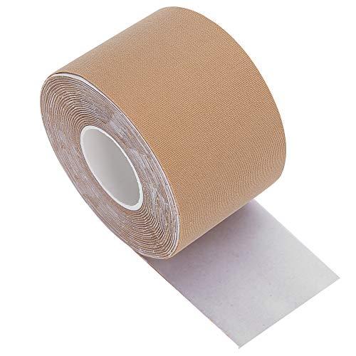 Borsttape Onzichtbare bh-tape voor vrouwen Elastische plakband Push-up bh-tape Waterdichte, ademende bodytape Boobytape voor grote borsten [03], borstverstevigingstape Kledingtape Accessoires