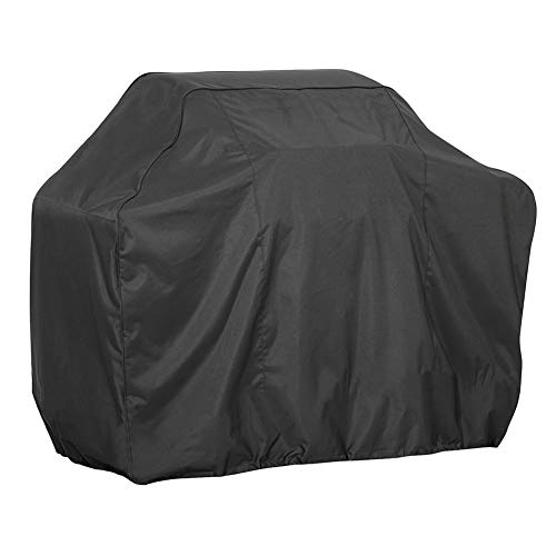 Ppy778 Garden Furniture Cover Oven Set Black Waterproof Outdoor Grill Cover Dustproof Sunscreen Rainproof Tarpaulin Oxford Cloth UV Protection (Color : SQUARE, Size : 190X71X117CM)